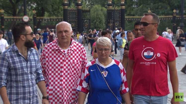 جماهير المونديال سعيدة في روسيا
