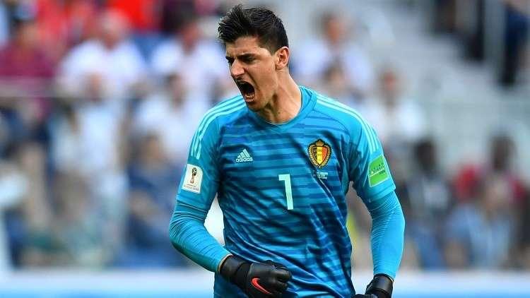 البلجيكي كورتوا أفضل حارس مرمى في مونديال روسيا 2018