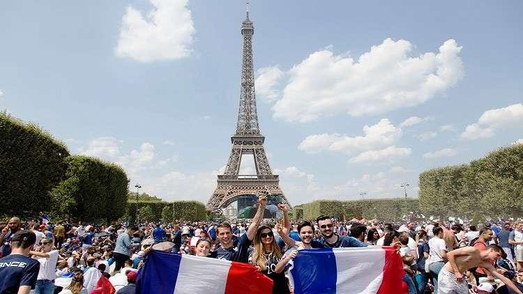 مترو باريس يخلد أبطال العالم 2018