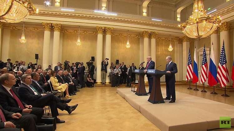 بوتين وترامب.. رغبة لتحسين العلاقات