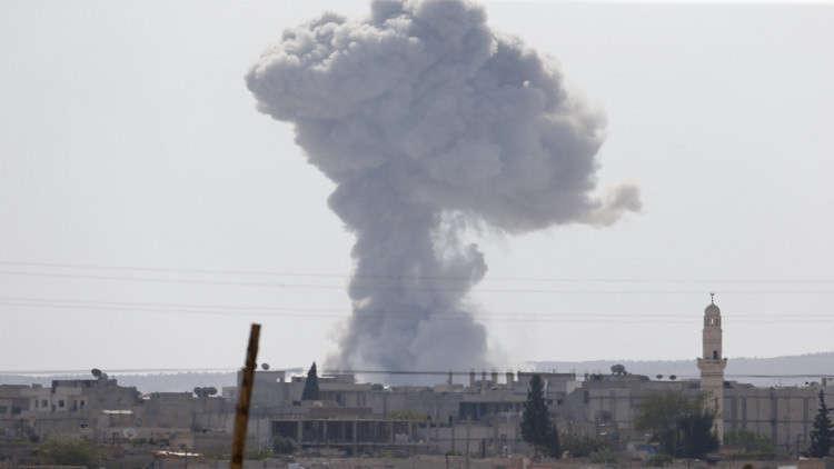 قتلى وجرحى مدنيون بغارة نفذتها طائرات التحالف على البوكمال بدير الزور