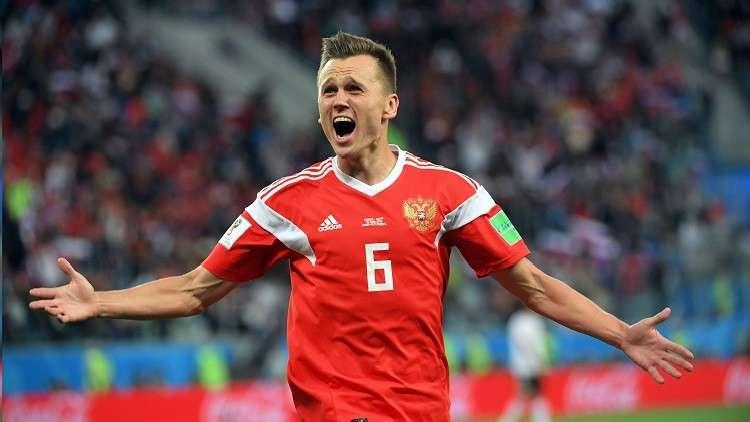 تشيريشيف ضمن قائمة اللاعبين الـ5 الأكثر إبداعا في مونديال روسيا