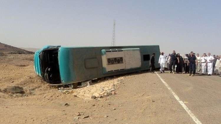 حادث مأساوي في مصر يقتل 12 شخصا ويصيب 28 آخرين