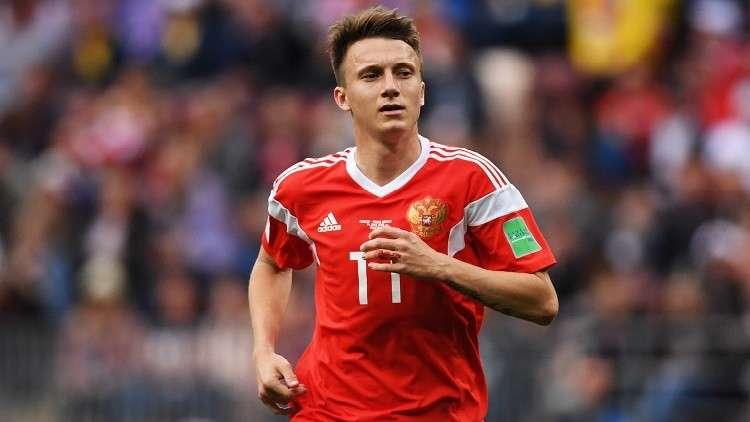 تسيسكا موسكو عرقل انتقال نجم المنتخب الروسي إلى برشلونة