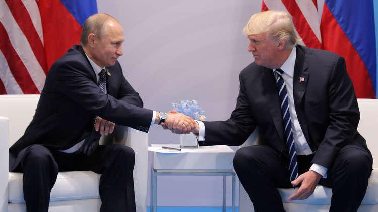 ترامب يدعو بوتين لزيارة واشنطن