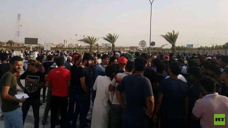 تجدد التظاهرات في البصرة وبغداد تستعد لمظاهرة حاشدة
