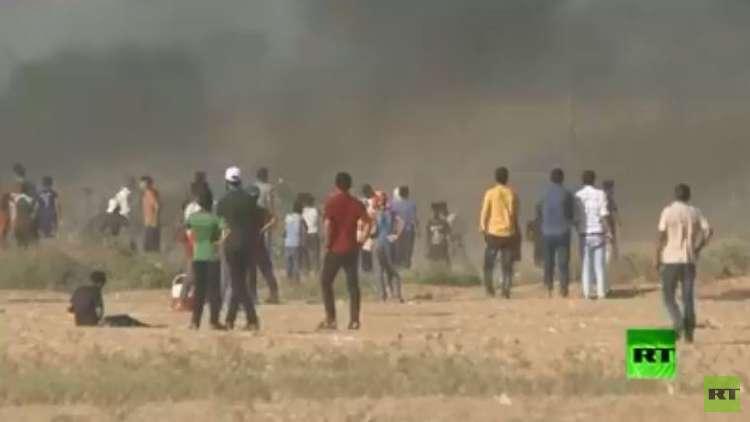 مقتل 4 فلسطينيين بقصف إسرائيلي على حدود غزة