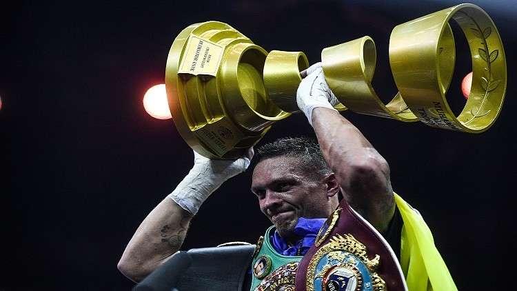 أوسيك يتوّج بكأس محمد علي ويتربع على عرش الملاكمة العالمية (فيديو)