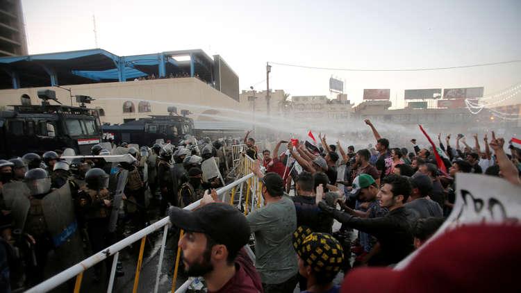 المرصد العراقي: المعتقلون يوقعون على تعهدات بعدم التظاهر مجددا
