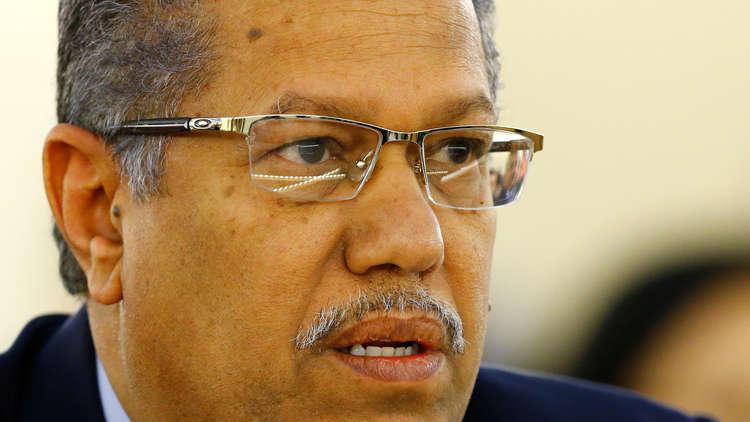 رئيس الحكومة اليمنية أحمد بن دغر