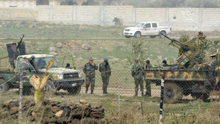 الجيش السوري يدخل مدينة نوى في ريف درعا الغربي