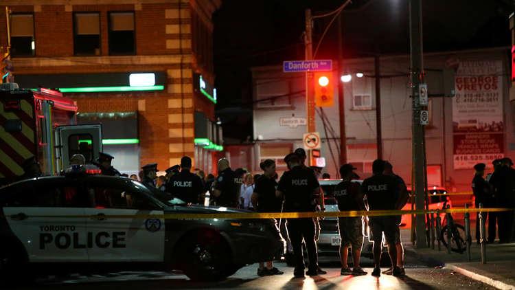 قتيلان و14 جريحا بإطلاق نار في تورونتو الكندية