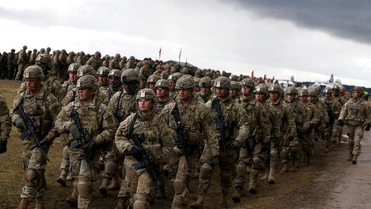 جيش أمريكي جرار منتشر  في 177 بلدا!