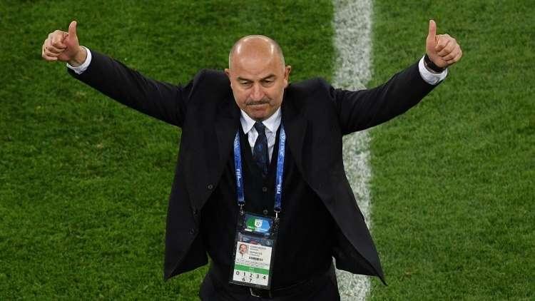 تمديد عقد مدرب منتخب روسيا.. مفاجأة مونديال 2018