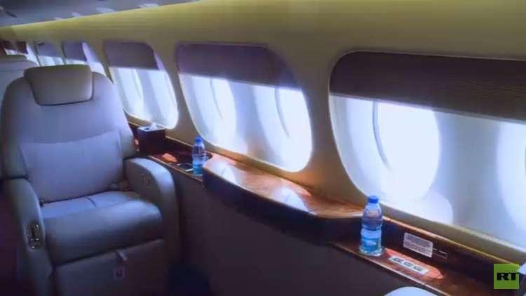 جولة حصرية لـRT داخل طائرة الرفاه