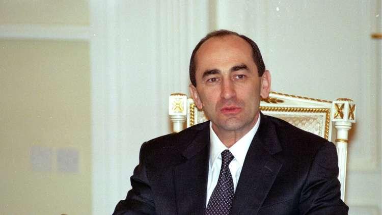 مذكرة اعتقال بحق رئيس أرمينيا الأسبق