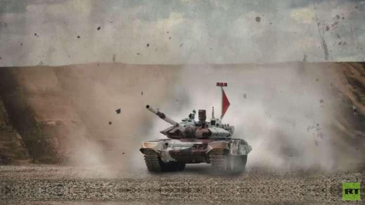انطلاق الألعاب العسكرية بضواحي موسكو