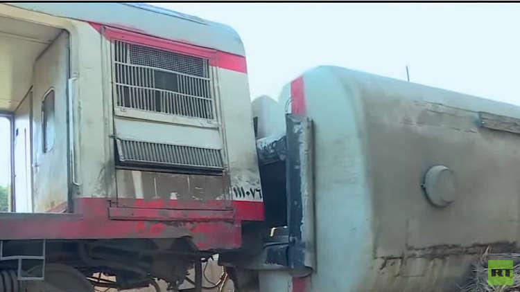 حوادث القطارات تطيح برئيس هيئة سكك حديد مصر
