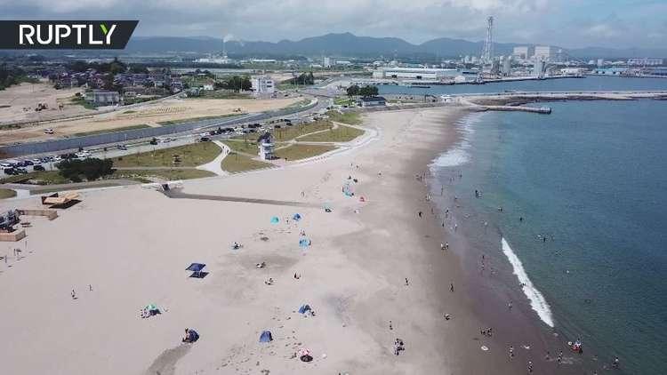 إعادة افتتاح ساحل ياباني تعرض لتسونامي مدمر عام 2011