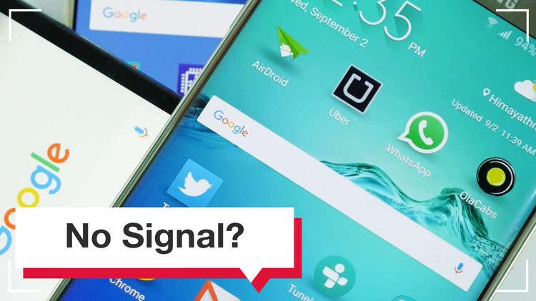 حل مشكلات تغطية شبكات الهاتف في منزلك