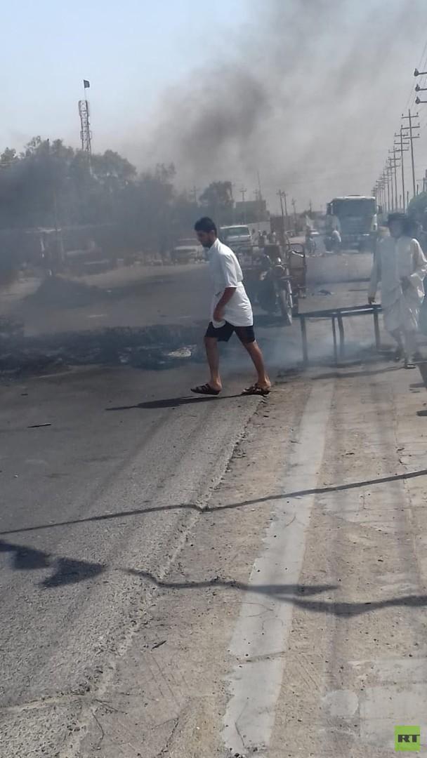 احتجاجات البصرة تتصاعد وصدامات مع قوى الأمن