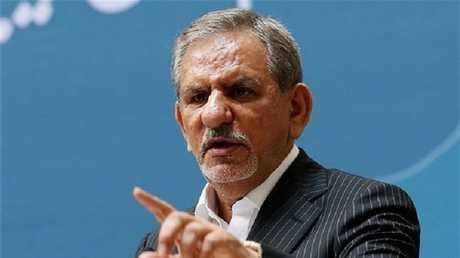 نائب رئيس إيران إسحق جهانغيري