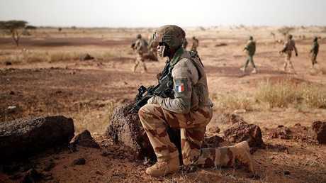 عناصر للقوات الفرنسية في مالي - أرشيف -