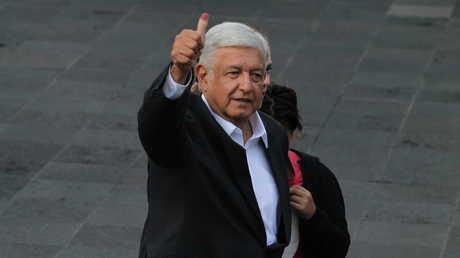الرئيس المكسيكي المنتخب لوبيز أوبرادور