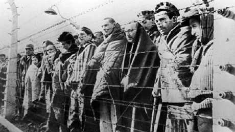 أرشيفية لمعتقلين في معسكر نازي