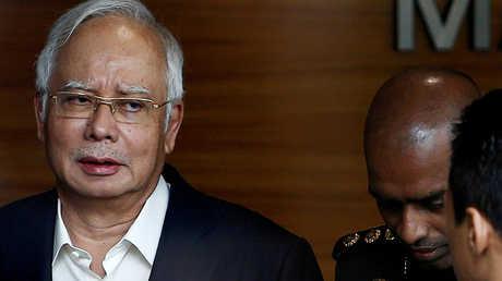 رئيس الوزراء الماليزي السابق نجيب عبد الرزاق