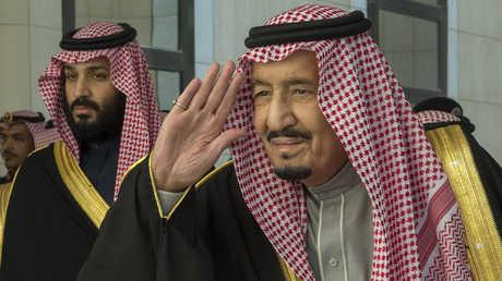 العاهل السعودي وولي عهده