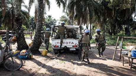 قوات حفظ السلام في الكونغو الديمقراطية (صورة من الأرشيف)