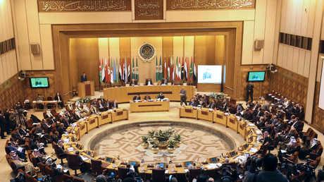 جلسة لجامعة الدول العربية