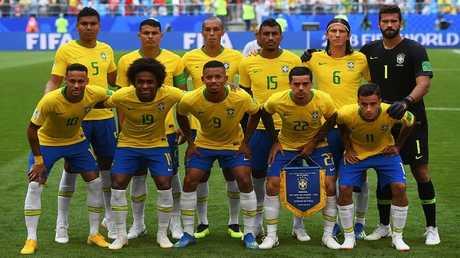 المنتخب البرازيلي يشكر مدينة سوتشي باللغة الروسية