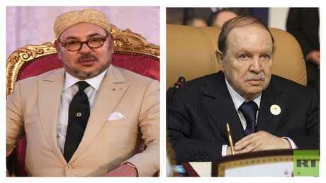 العاهل المغربي الملك محمد السادس، والرئيس الجزائري عبدالعزيز بوتفليقة