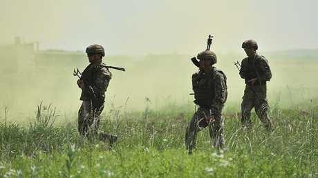 تدريبات للجيش الأوكراني (أرشيف)
