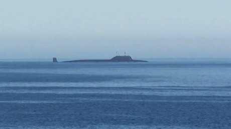 """الغواصة النووية متعددة الأغراض التابعة الأسطول الشمالي الروسي """"سيفيرودفينسك """""""