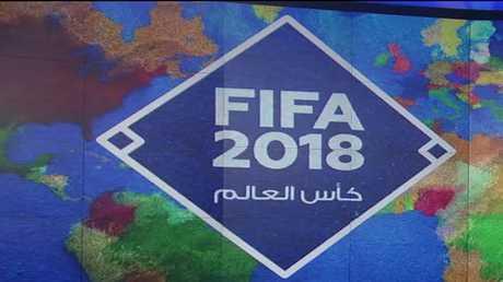 مباراة روسية قطرية ودية بكرة القدم
