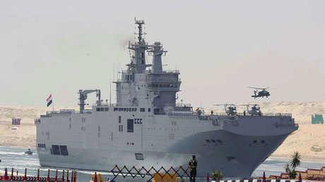 سفينة ميسترال المصرية