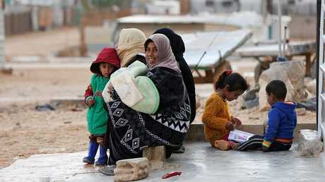 اللاجئون السوريون في الأردن - أرشيف