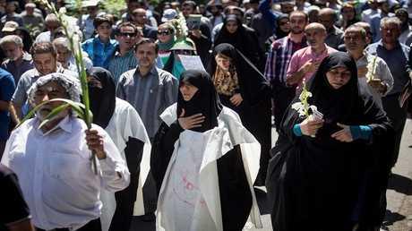 مسيرة في ايران - ارشيف