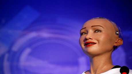 الروبوت السعودي صوفيا