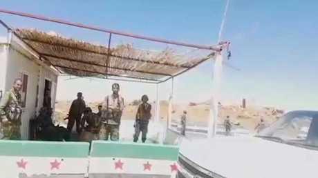الجيش السوري ينتشر على الحدود مع الأردن