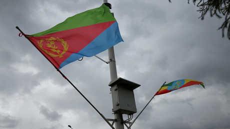 علمي ارتيريا وإثيوبيا
