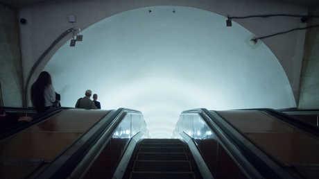 مترو أنفاق موسكو - صورة أرشيفية