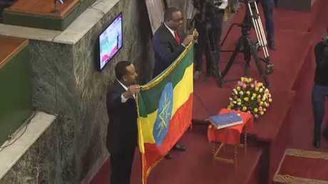 إعلان انتهاء الحرب بين اريتريا وإثيوبيا