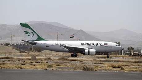 طائرة تابعة لشركة ماهان للطيران الإيرانية (صورة من الأرشيف)