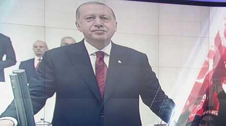 أردوغان رئيسا لتركيا وفقا للنظام الجديد
