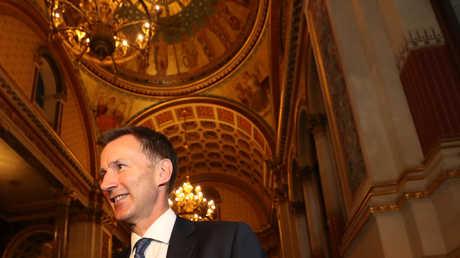وزير الخارجية البريطاني الجديد جيريمي هانت