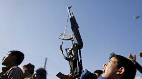 تجنيد الأطفال في اليمن (صورة أرشيفية)